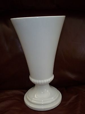 "ROYAL HAEGER VINTAGE GRAY 9"" TALL FOOTED VASE"
