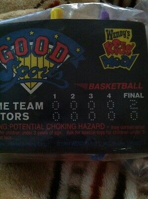 Wendy's Kids Meal Good Sports Basketball Toy Game New In Package