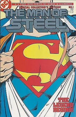 THE MAN OF STEEL - 6 Part Mini-Series by Byrne & Giodano [7 issues] (1986)
