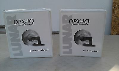 7Gg70   Lunar Dpx-Iq Bone Densitometer Operating Manuals, Good Condition