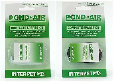 NEW Interpet Pond Air 1 / 2 Spares Kit Pump Koi