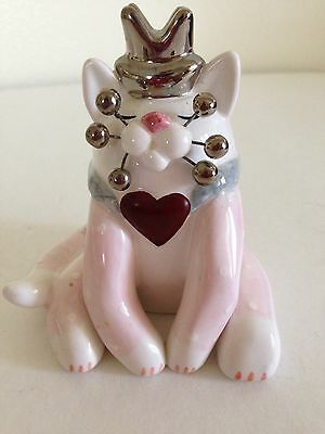 WhimsiClay Cat by Amy Lacombe 2002 Royal Sitting Cat #24232 King