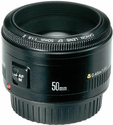Brand New  Canon EF 50mm F/1.8 II Lens for Canon DSLR Camera