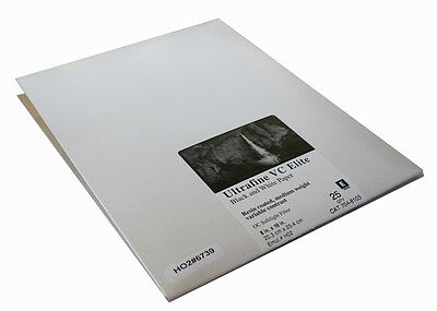 Ultrafine VC ELITE Pearl Variable Contrast RC Paper 8 x 10 / 25 Sheets