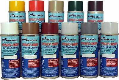 Colored Non Slip Spray Paint, Anti Skid No Slippery Steps Floors Tiles Traction