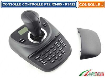 Consolle Controller Joystick Ptz Per Telecamera Camera Speed Dome Rs485 Rs422