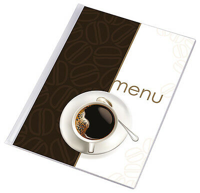 10 X MENU COVER A4 up to 12 pages PUB menu couverture holder restaurant COFFEE