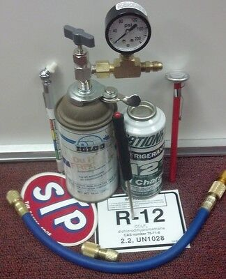 R12, Refrigerant 12, Refrigeration, RECHARGE KIT,WITH OIL CHARGE, KIT# 91614751
