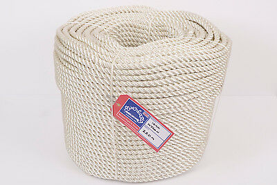 EVERLASTO THREE STRAND NYLON MOORING/ANCHORING ROPE - 12MM x 220M COIL