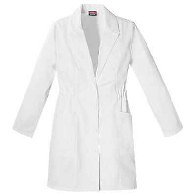 "Dickies Women's Lab Coat 84402 34"" Everyday Scrubs Sizes XS  to 2XL"