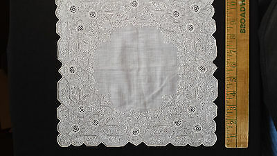 Antique Vintage Wedding Bridal Lace Hankie
