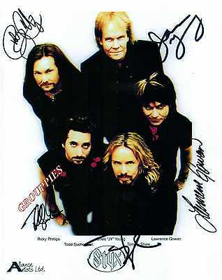 STYX signed 8x10 RP