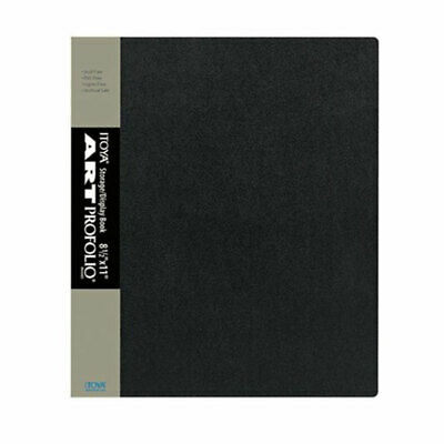 Itoya IA-12-8 Art Profolio Presentation 8 1/2 x 11 Display Book Album 24 Pages