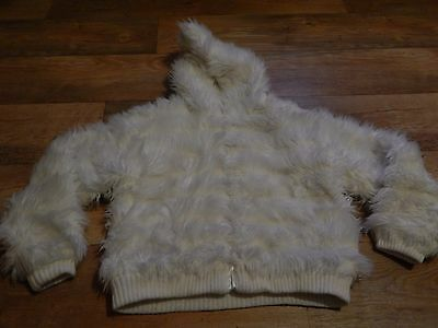 Monsoon Faux Fur Winter Coat In Age 10-12 Years