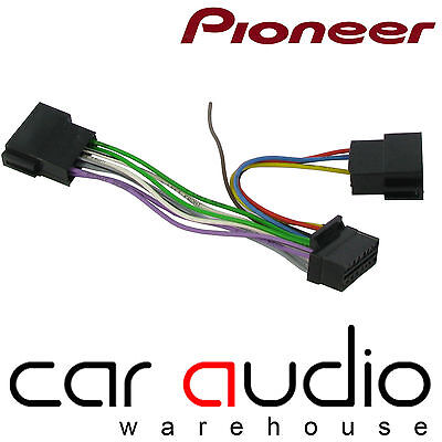 SONY GENUINE 16 Pin Car Radio Stereo Wiring Connections ISO Loom