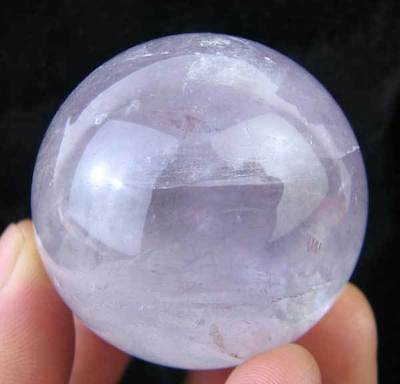 39mm Natural Purple Crystal(Amethyst) Sphere/ball Carving,FENGSHUIl k14186