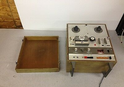 Vintage Akai X-1800SD Super Deluxe Reel Tape & 8-Track Player Working Condition