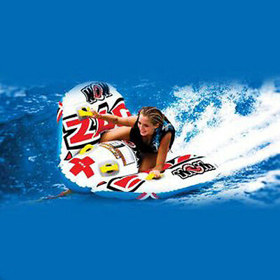 WOW Zig Zag Controlable Towable Ski Tube Inflatable Biscuit Boat Ride