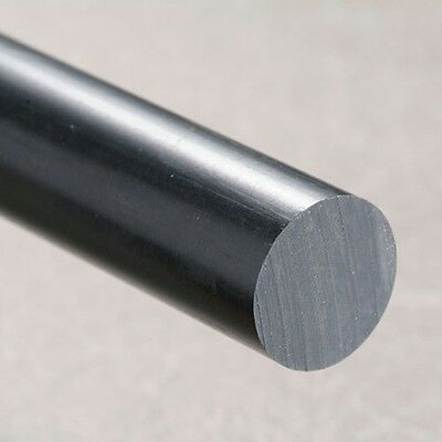 NYLON 66 Rod BLACK Round Bar Diameter Engineering Plastics Ertalon 6.6 Bar ext