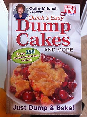 Dump Cakes!! As seen on tv..Brand new Book!!!