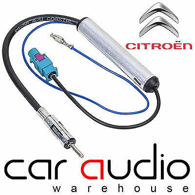 CITROEN RELAY Car Stereo Radio Amplified Booster Fakra Aerial Antenna