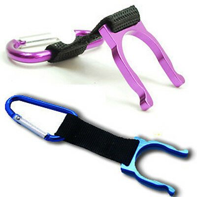 New 5PCS Outdoor Sports Carabiners Water Bottle Holder Carabiners Colorful Clip