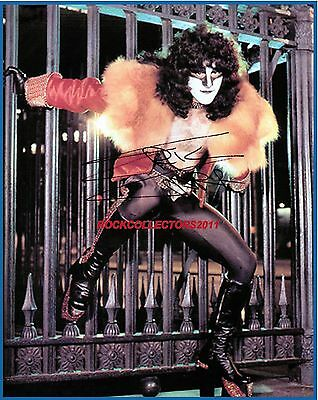 KISS ERIC CARR signed 8x10 photo RP