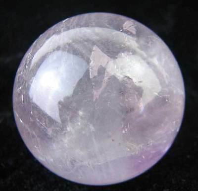 41mm Natural Purple Crystal(Amethyst) Sphere/ball Carving,FENGSHUIl k14202