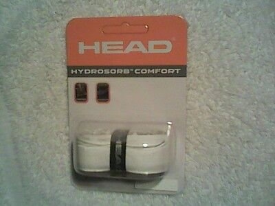 NEW Head Hydrosorb Comfort White Replacement Grip for Tennis Racquet Racket