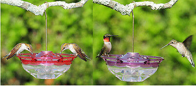 HummBlossom Hummingbird Feeder American Made in USA - No Drip No Leak