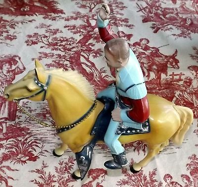Roy Rogers and Trigger  Vintage  Hartland 1950's