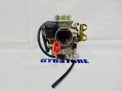 NCY 30mm PERFORMANCE CARBURETOR FOR CHINESE SCOOTERS WITH 150cc GY6  MOTORS