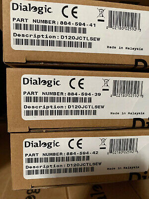 Dialogic D120JCTLSEW brand new sealed D/120JCTLSEW