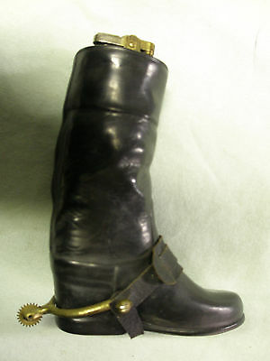 Vintage Ceramic 'Foreign' Riding Boot Lighter