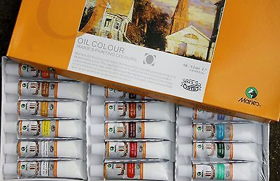 Marie's 18Colors 12ml Oil Painting professional -special sale on now AU$ 7.99