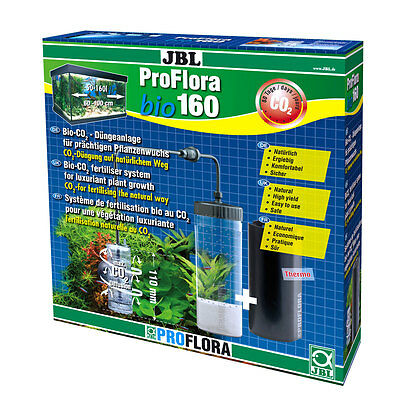 JBL ProFlora bio160 Fertilization for Aquarium Plant growth Bio-CO2 Starter Set
