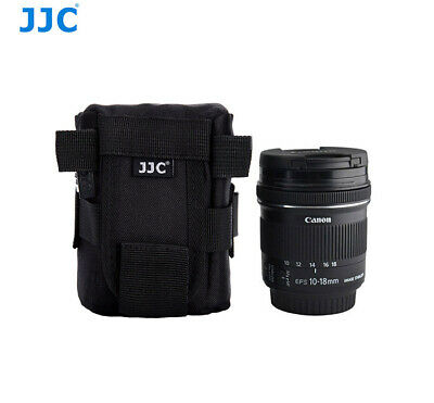 JJC Deluxe Lens Pouch Case Bag for Canon ZOOM LENS EF-S 10-18mm 1:4.5–5.6 IS STM