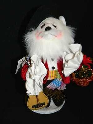 Annalee Manuel w/ Guitar The Spanish Santa Bear Limited Edition Collectible