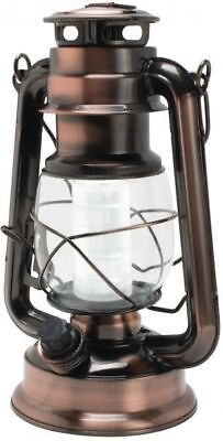 HURRICANE LANTERN Lamp Classic Vintage with 12 Dimmer LED Lights Outdoor New