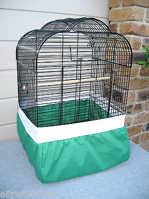 """Bird Cage Tidy - """"new"""" - Seed Catcher Full Cover  - Small"""