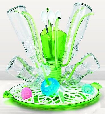 Munchkin Sprout Baby Bottle & Accessories Drying Rack Tray Cleaning Organiser