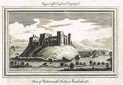 "England Displayed's - ""VIEW OF OXFORD CASTLE"" - Engraving -1770"