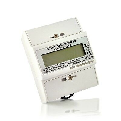 kWh Meter - Submeter - all Volts: 110 120 220 240 480V - Revenue Grade #24