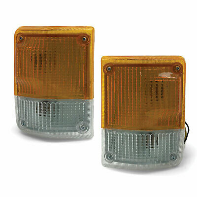 Corner Indicator Light PAIR Front Fits Toyota Landcruiser 60 Series 80-87