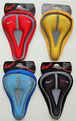 Cycling MTB Bike Bicycle Memory Foam Saddle Seat Cover Cushion Soft Pad