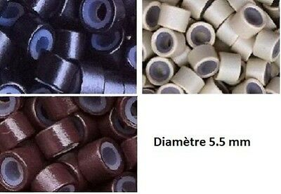 100 ANNEAUX / MICRORINGS SILICONES POUR POSE EXTENSIONS A FROID LIVR SS 24-48h