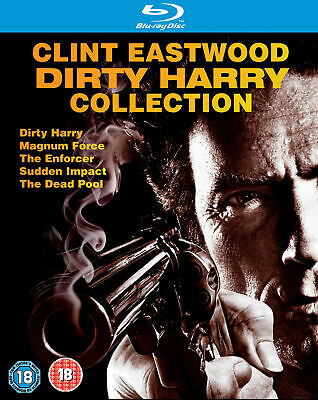 Dirty Harry Collection (Blu-ray) Clint Eastwood, John Vernon, Hal Holbrook