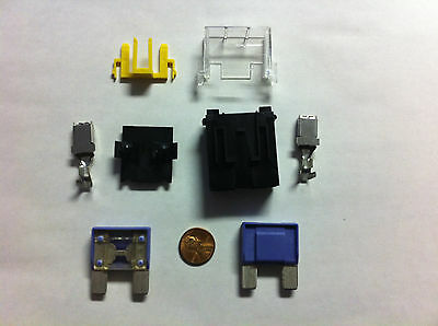100 Amp Maxi Blade Fuse and Holder / Install kit For Car, Van, Truck, Tractors