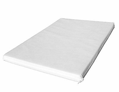 LAURA 95x65cm Baby Travel Cot Mattress 5cm Thick / Fitted Sheet Available
