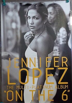 Jennifer J-LO Lopez 24x34 On The 6 Album Poster 27x34 Single Sided